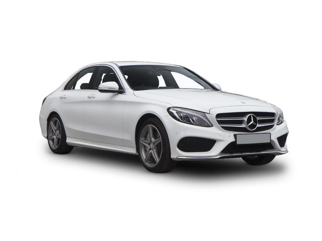 Mercedes benz c class diesel saloon c220d amg line 4dr 9g for Mercedes benz lease uk