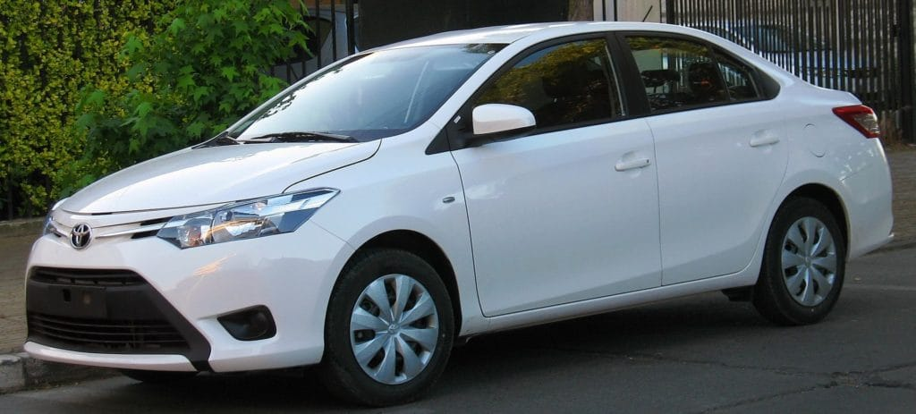 Image of the Toyota Yaris hybrid