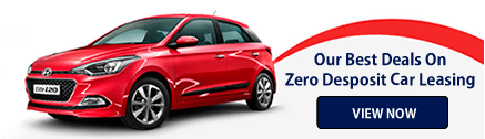 Our Best Deals on Zero Deposit Car Leasing