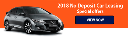No Deposit Car Leasing Special Offers